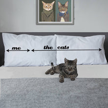 Crazy cat lady pillowcase for animal lovers
