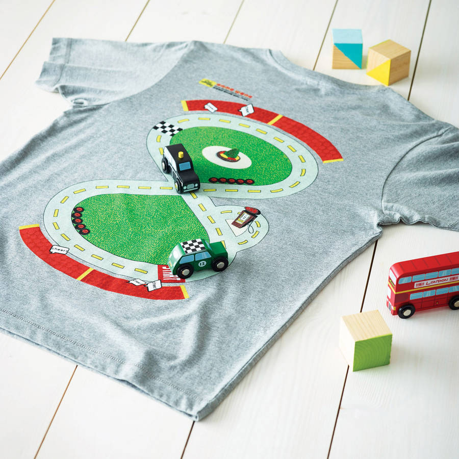 Racetrack Playwear t shirt for dads
