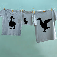 Drake, Mother Duck and Duckling Family t shirt set