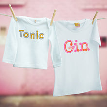 Gin and Tonic matching outfit for mum and child