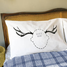 Antler Headcase pillowcases for Stags and Reindeer lovers