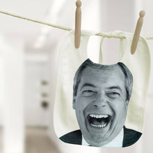Nigel Farage political baby bib