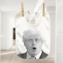 Boris Johnson political baby bib