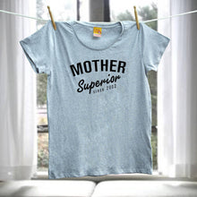 Personalised mum t shirt - Mother Superior