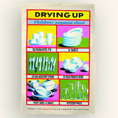 Payment Chart Tea Towel For Kids