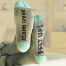 Graduation 'Feet Up' socks for students