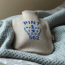 Gin and Pint Hot water bottle cover set