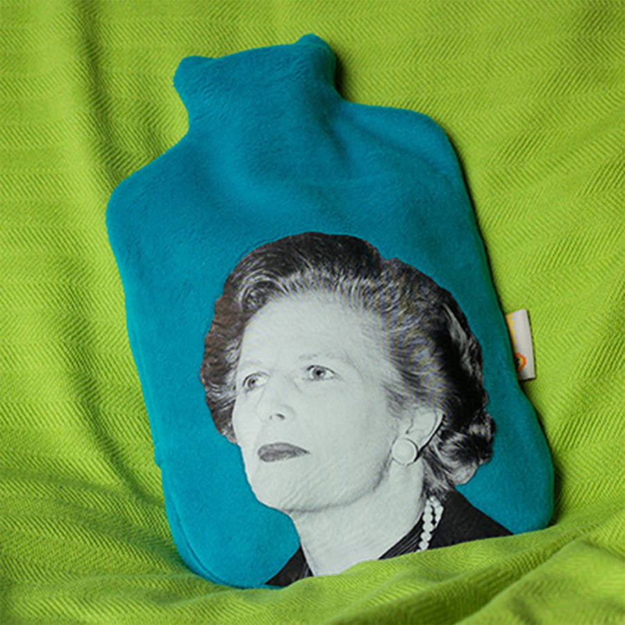 Political Hottie  - Thatcher hot water bottle