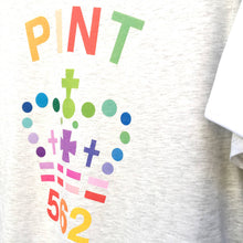 Rainbow Pint & Half Pint t shirt twinset for mum, dad and child