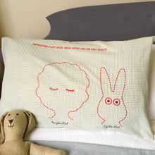Pillowcase for a child and their favourite toy - Bunny and Me