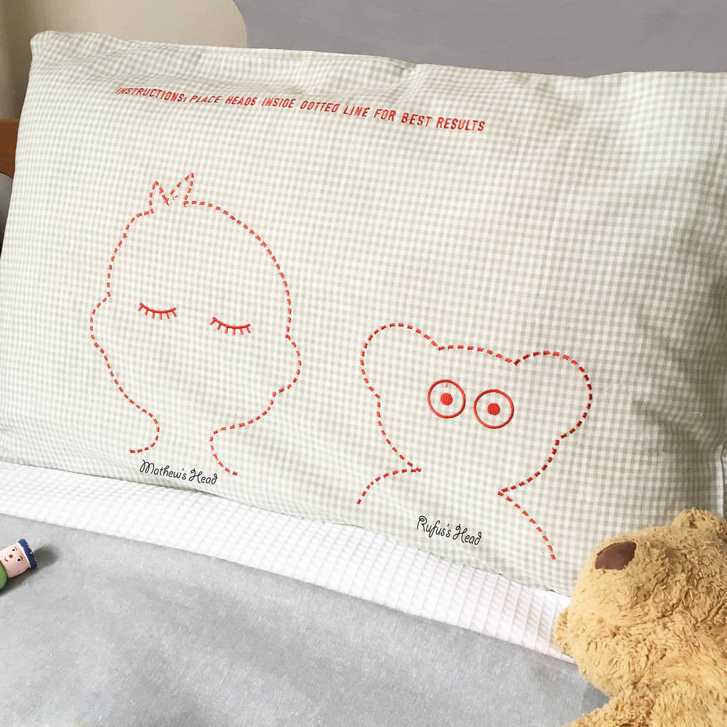 pillowcase for a child's favourite toy - Teddy and me