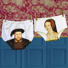 Henry Vlll & Anne Boleyn Portrait Pant set for men and women