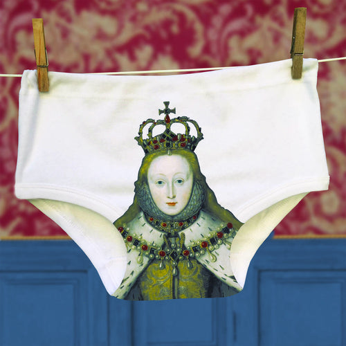 Queen Elizabeth Portrait Pants for men and women