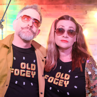 Fogey t shirts for fabulous older men and women