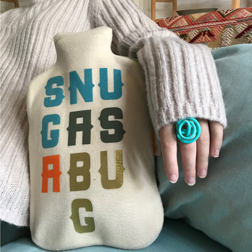 Snug as a Bug hot water bottle