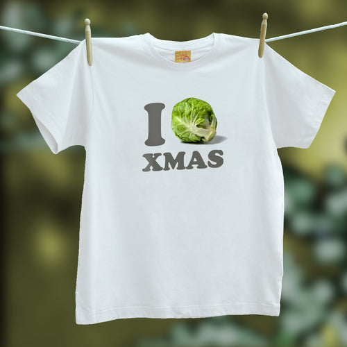 I Love Sprouts Christmas t shirt / jumper