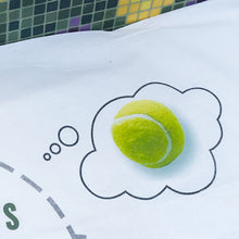 Pillowcase for tennis lover-  Tennis Dreams Headcase
