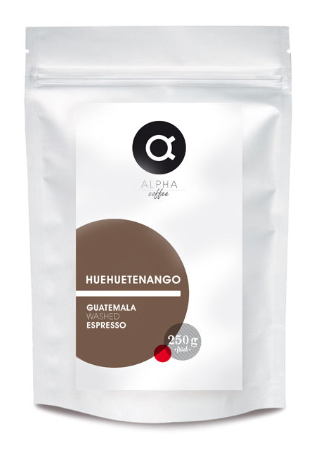 ALPHA coffee - HUEHUETENANGO - ESPRESSO - WASHED - 250 GRAMM