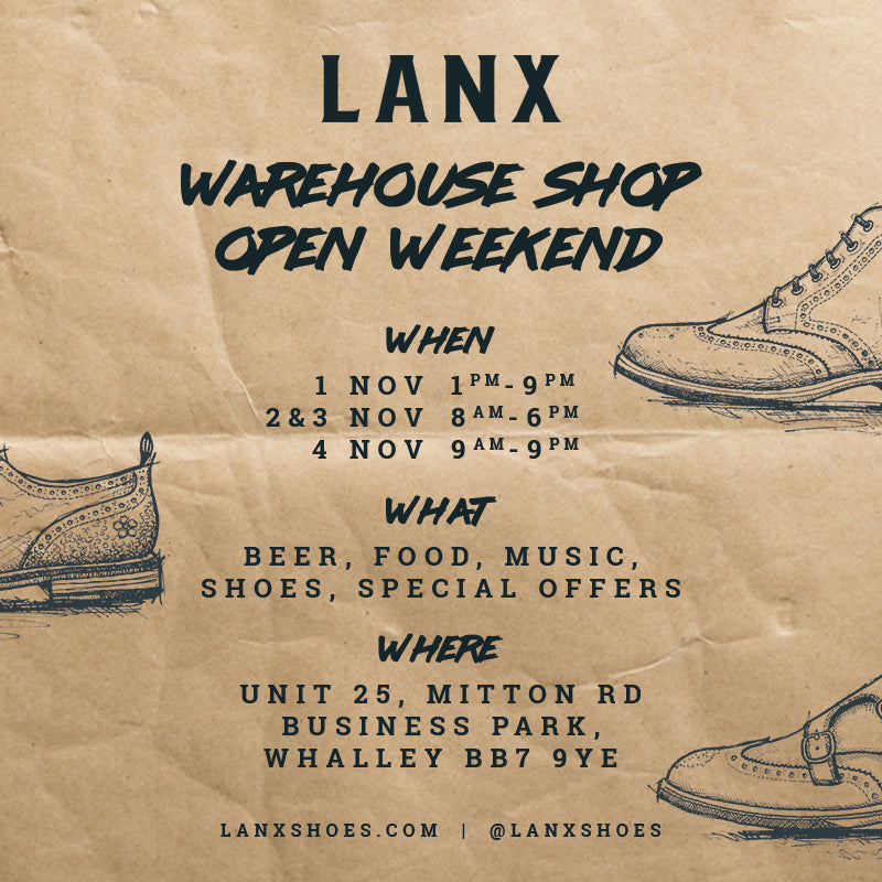 LANX Warehouse Shop Open Weekend