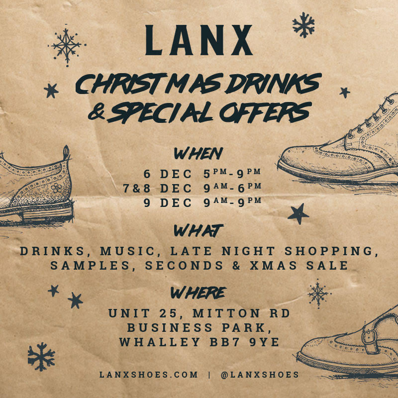 Invite: Warehouse Shop Xmas Drinks