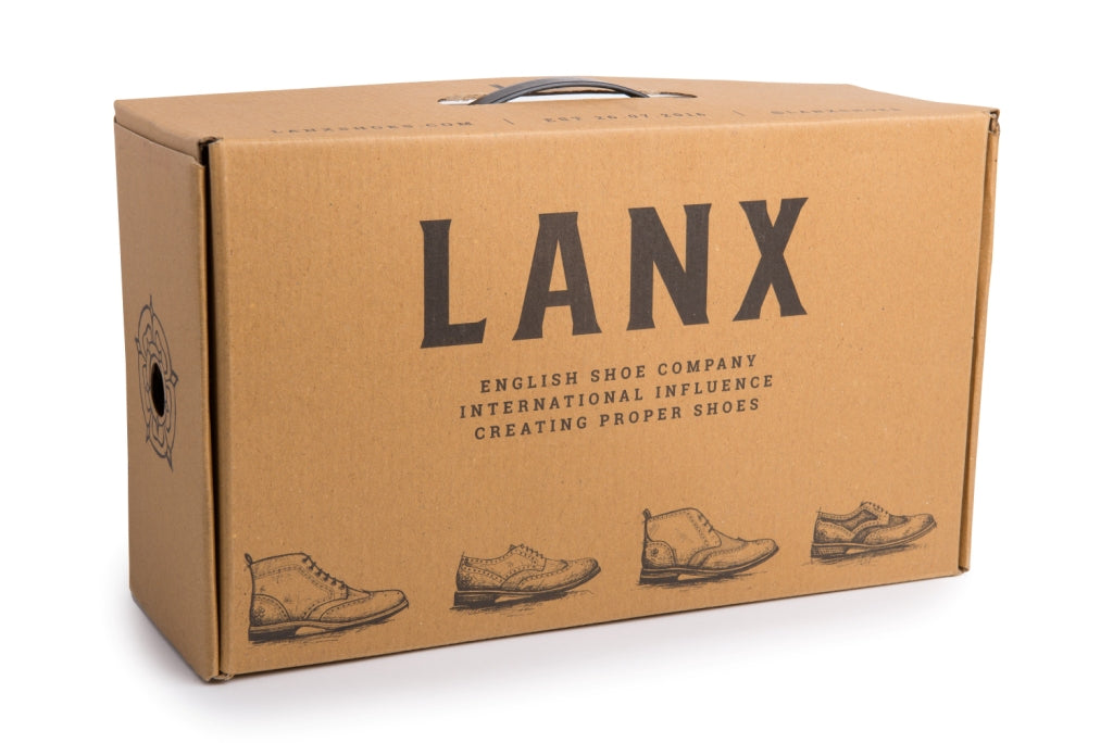 REILLY // BROWN-MEN'S SHOE | LANX Proper Men's Shoes