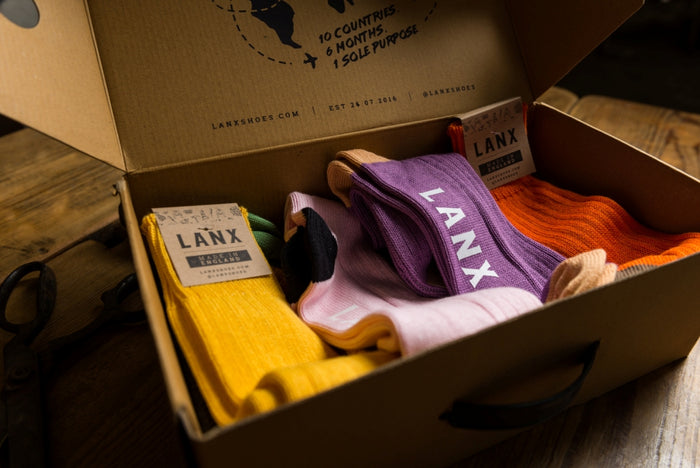 BOX OF SOCKS (7 PAIRS)-Socks | LANX Proper Men's Shoes