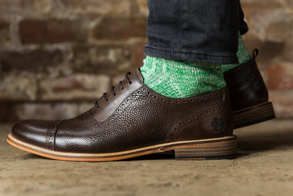 PEA FLECK (UK 7-11)-Socks | LANX Proper Men's Shoes