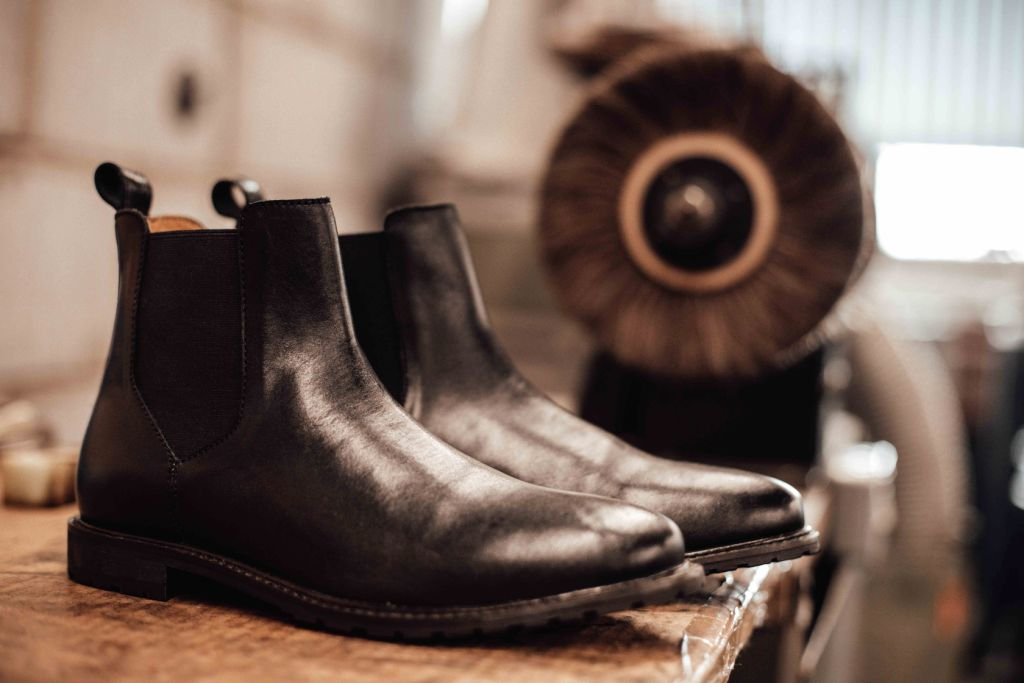 BOWLAND // BLACK-Womens Footwear | LANX Proper Men's Shoes