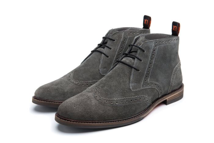 MOORBY // GREY (MEN'S)-MEN'S SHOE | LANX Proper Men's Shoes