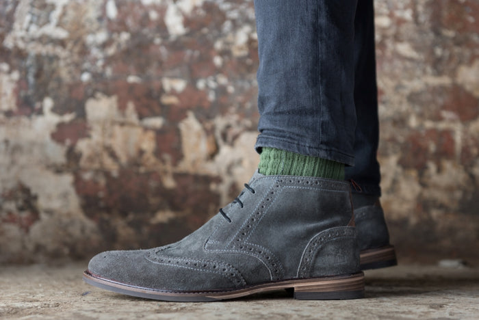 MOORBY // GREY-MEN'S SHOE | LANX Proper Men's Shoes