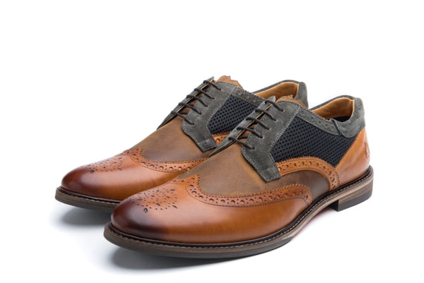 DICKINSON // TAN-MEN'S SHOE | LANX Proper Men's Shoes