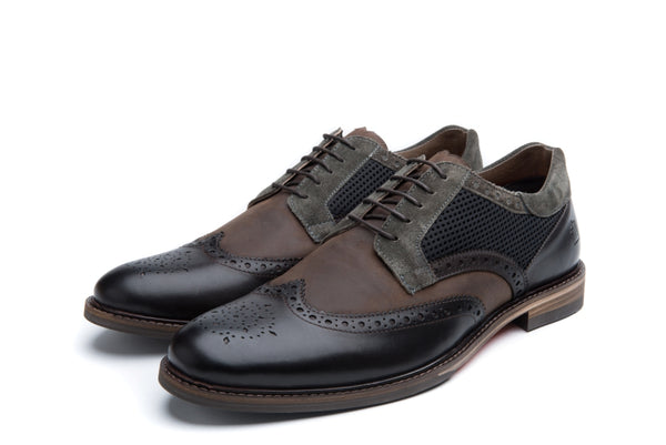 DICKINSON // DARK-MEN'S SHOE | LANX Proper Men's Shoes