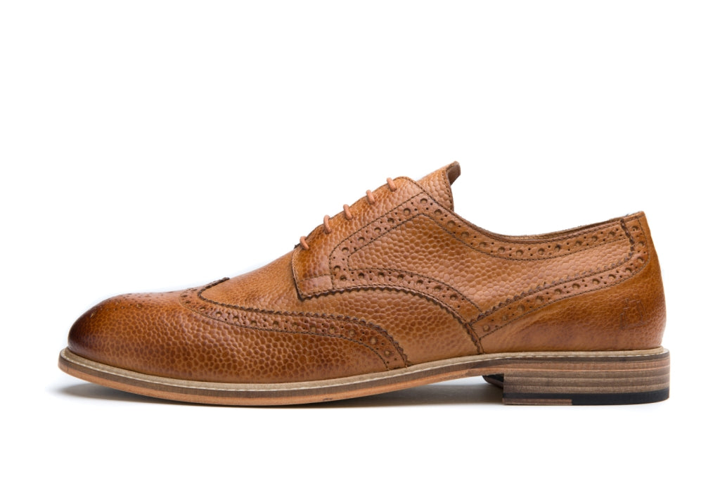 RIGBY // TAN-MEN'S SHOE | LANX Proper Men's Shoes