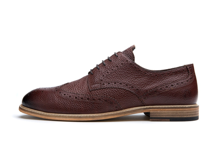 RIGBY // ROUGE CHESTNUT (MEN'S)-MEN'S SHOE | LANX Proper Men's Shoes