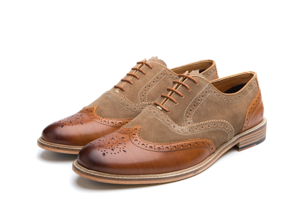 WATSON // SAND (MEN'S)-MEN'S SHOE | LANX Proper Men's Shoes