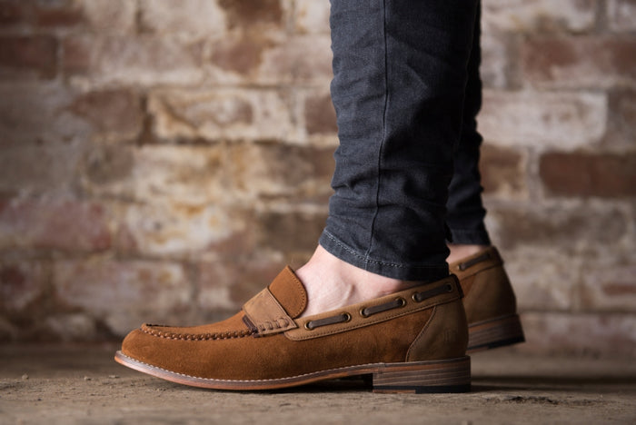 CUDDY // TAN-MEN'S SHOE | LANX Proper Men's Shoes
