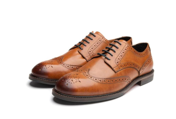 SALE SHARKS X LANX // TAN- | LANX Proper Men's Shoes