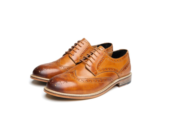 GREENWOOD / TAN (WOMEN'S)-Womens Footwear | LANX Proper Men's Shoes
