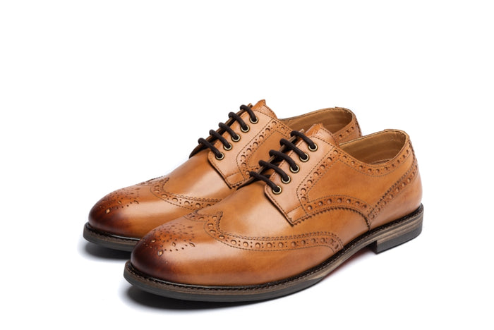 ASPINALL // TAN (MEN'S)-MEN'S SHOE | LANX Proper Men's Shoes