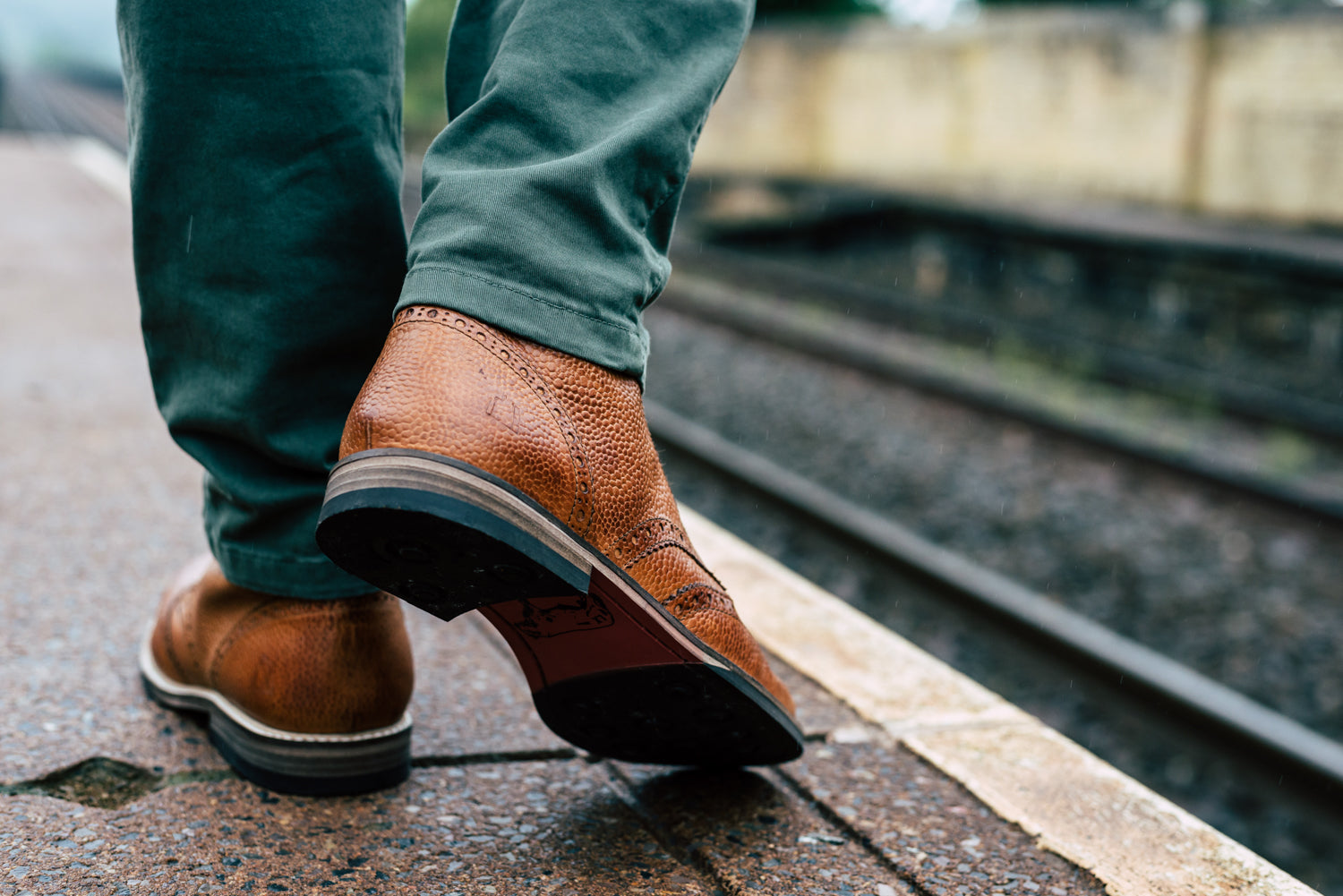 PARK // PEBBLED TAN (MEN'S)-MEN'S SHOE | LANX Proper Men's Shoes