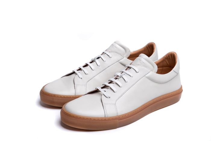 ANCOATS // OFF WHITE-MEN'S SNEAKER | LANX Proper Men's Shoes