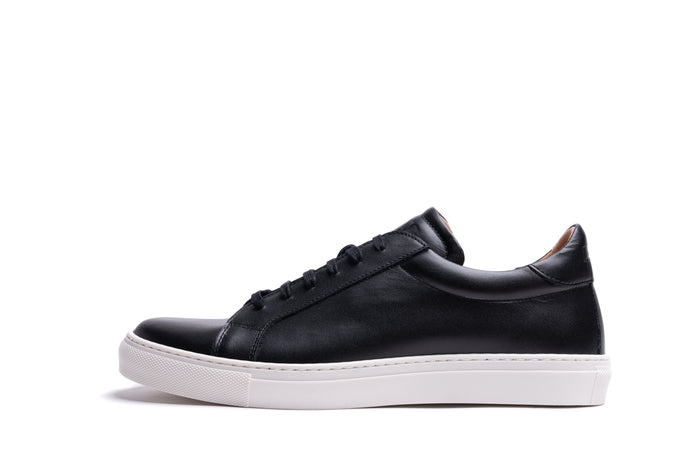 ANCOATS // BLACK-MEN'S SNEAKER | LANX Proper Men's Shoes