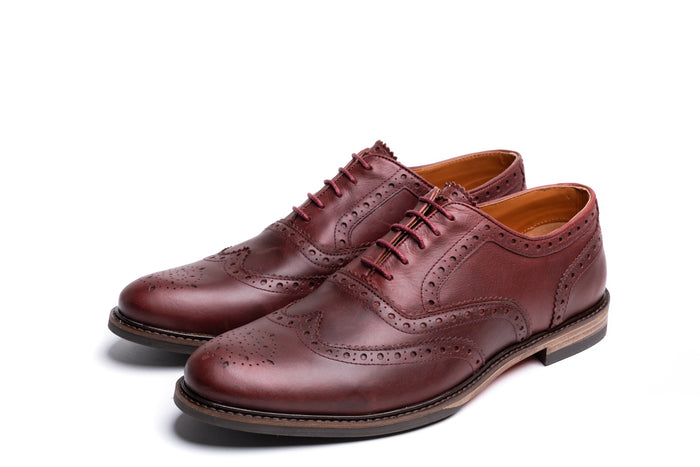 🔜 SHIREBURN // OXBLOOD-MEN'S SHOE | LANX Proper Men's Shoes