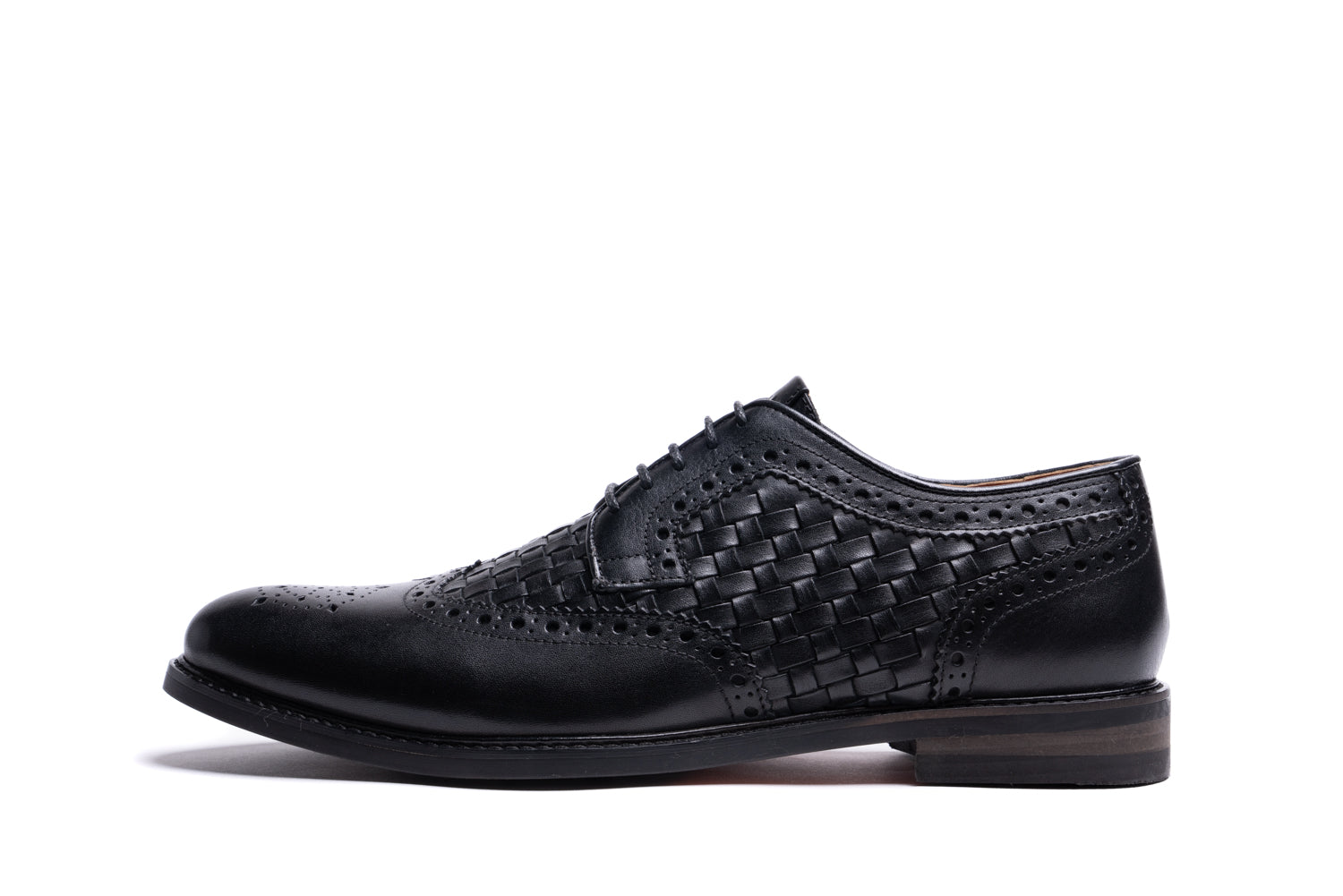 BLUNDELL // BLACK-MEN'S SHOE | LANX Proper Men's Shoes