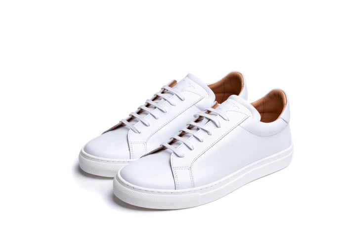 ANCOATS / WHITE-Womens Sneakers | LANX Proper Men's Shoes