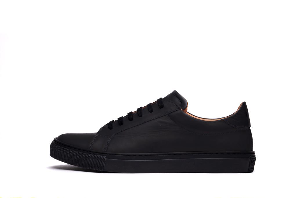 ANCOATS // CHARCOAL-MEN'S SNEAKER | LANX Proper Men's Shoes