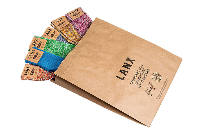 BAG OF 6 PAIRS-Socks | LANX Proper Men's Shoes