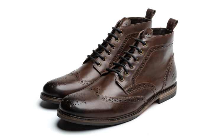 REILLY / BROWN-Womens Footwear | LANX Proper Men's Shoes