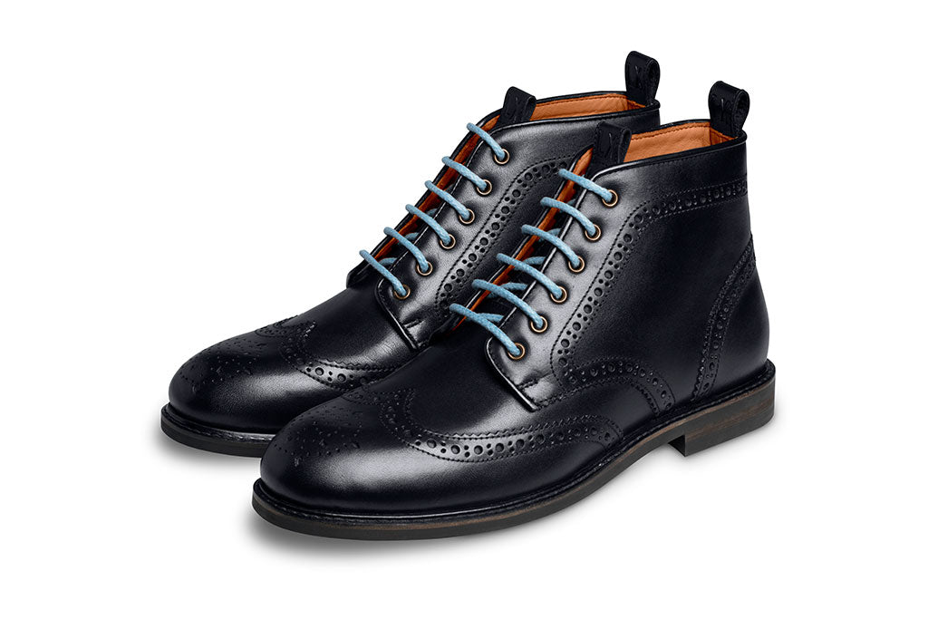 LIGHT BLUE BOOT LACE-LACES | LANX Proper Men's Shoes