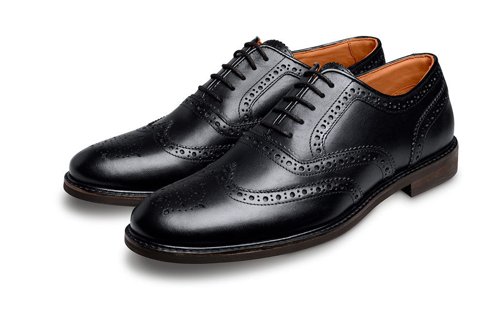 BLACK SHOE LACE-LACES | LANX Proper Men's Shoes
